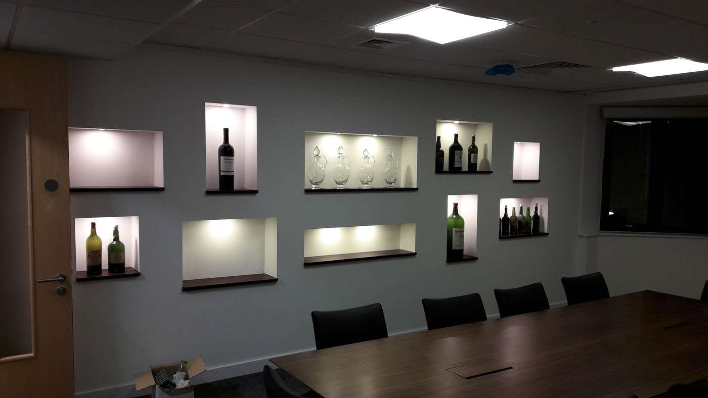 Workplace Fit Out - Fells Wine (1)