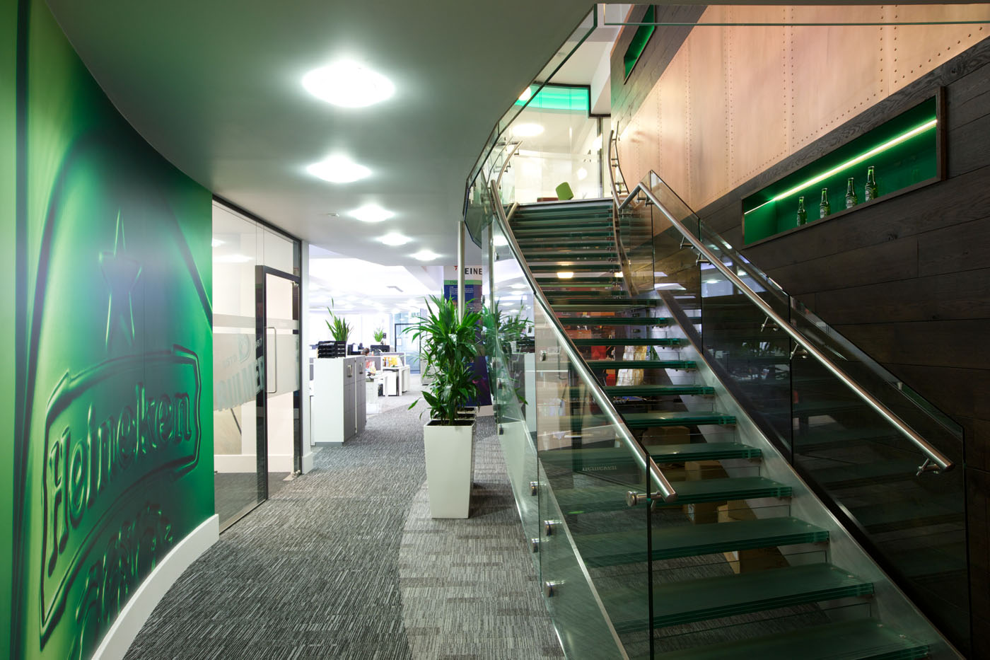 Office Refurbishment London - Heineken (2)