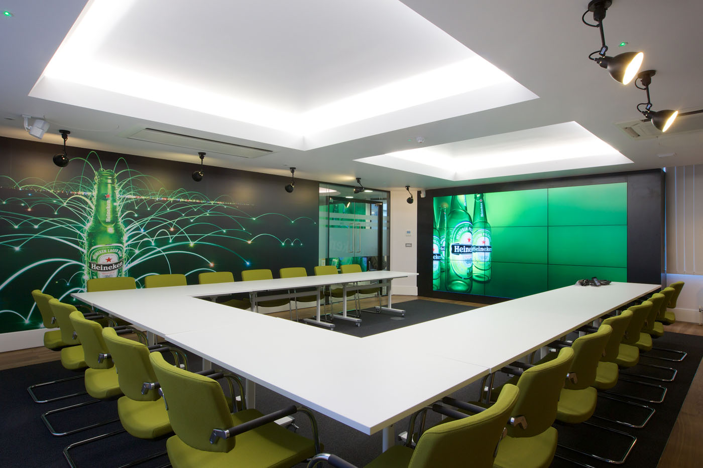 Office Refurbishment London - Heineken (9)