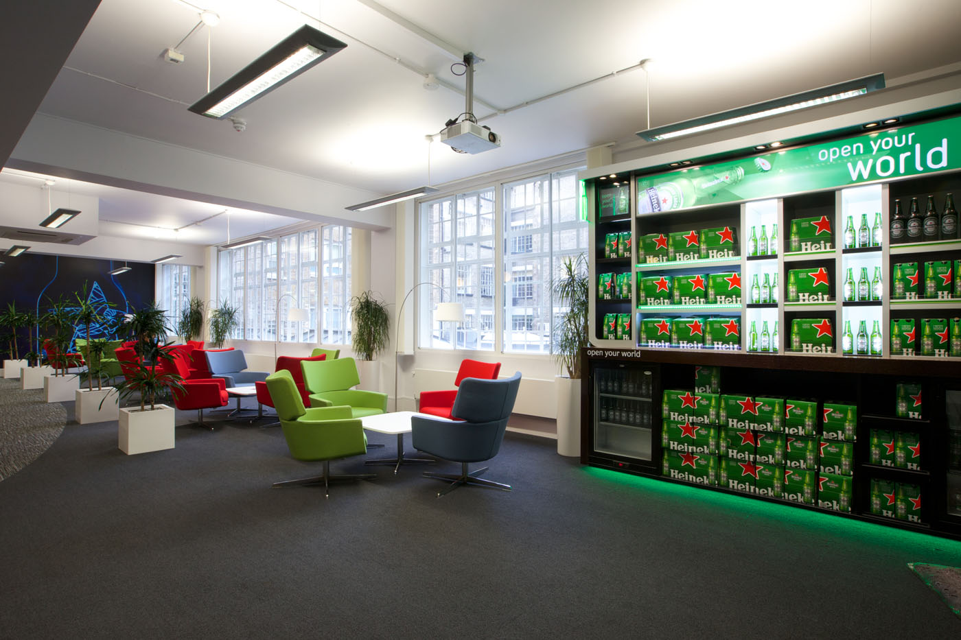 Office Refurbishment London - Heineken (3)