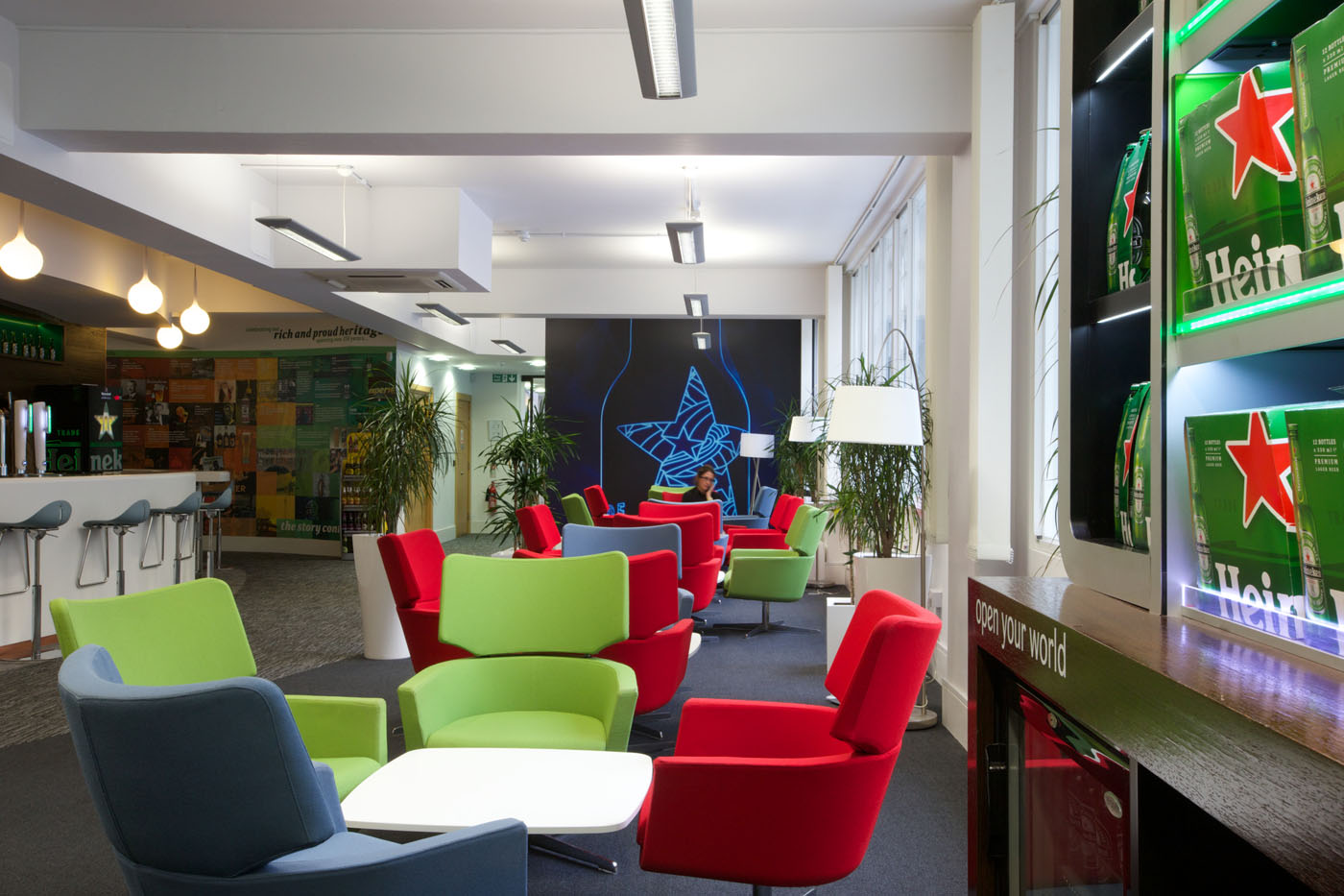 Office Refurbishment London - Heineken (4)