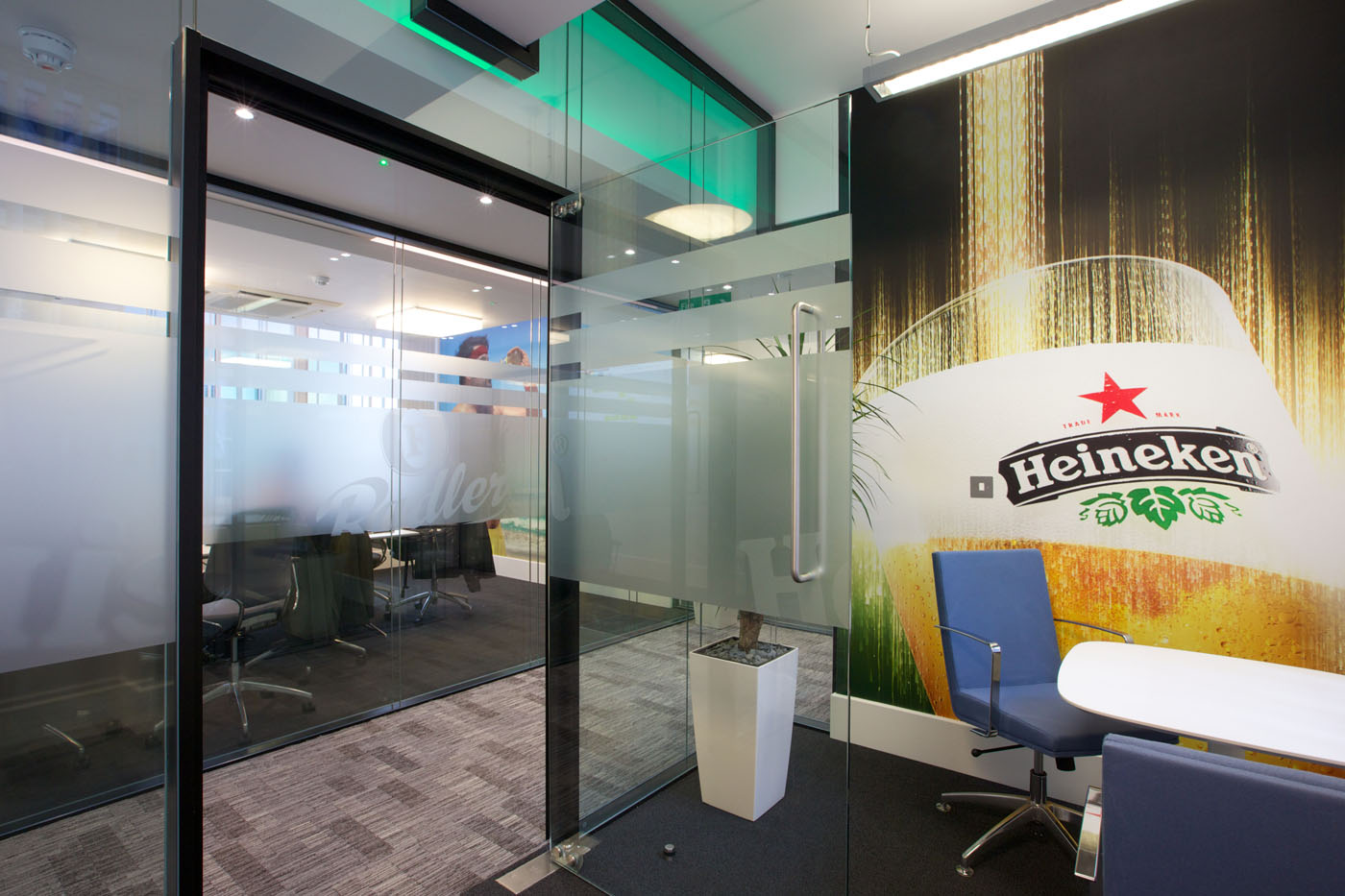 Office Refurbishment London - Heineken (7)