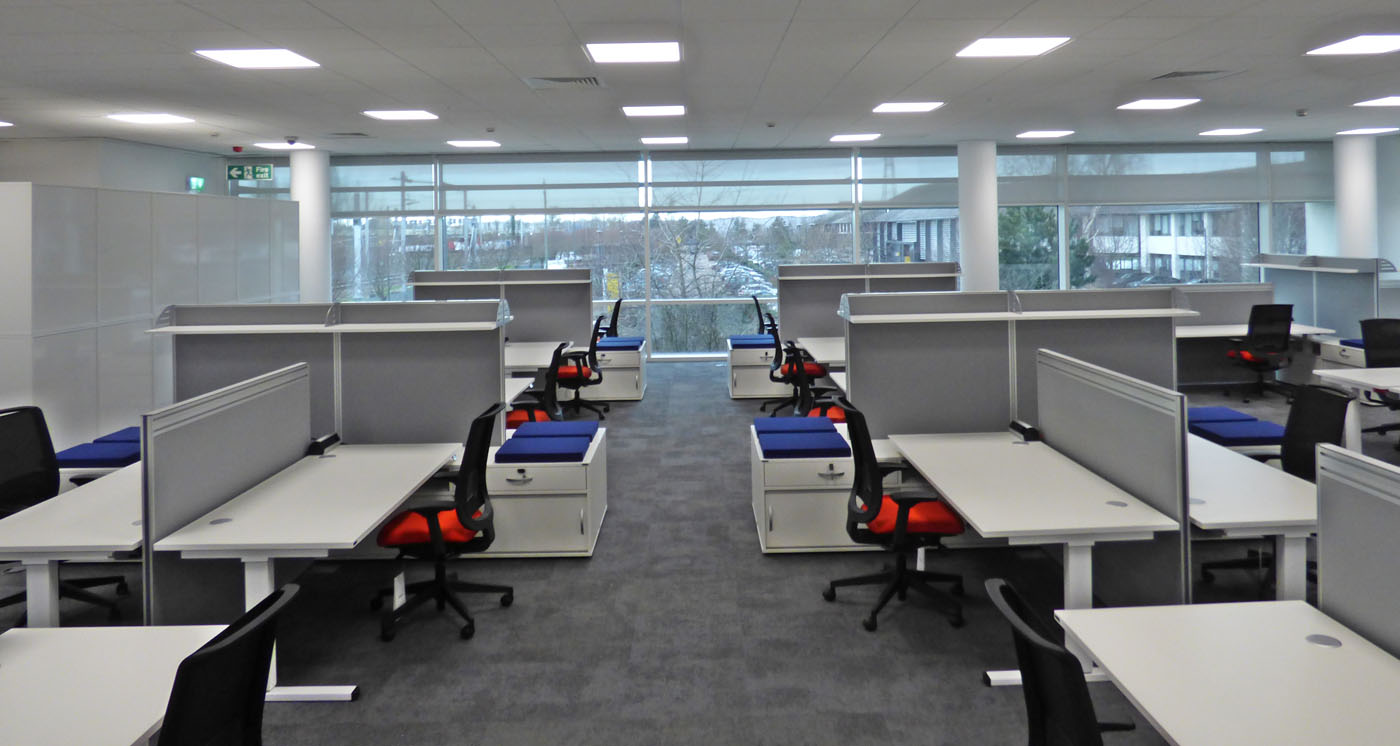 Office Fit Out Berkshire - Global Software Company (4)