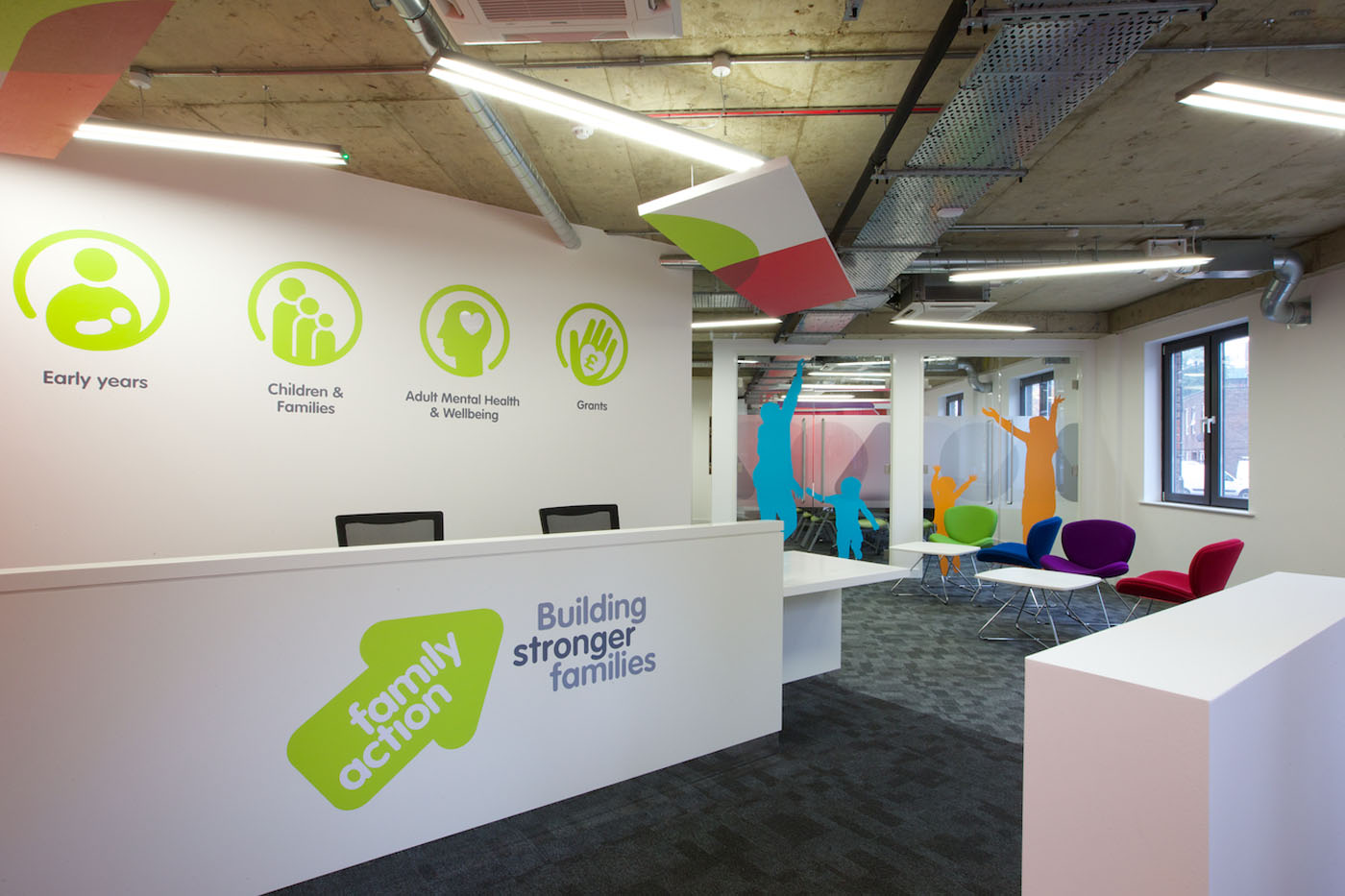 Workplace Fit Out London - Family Action (2)