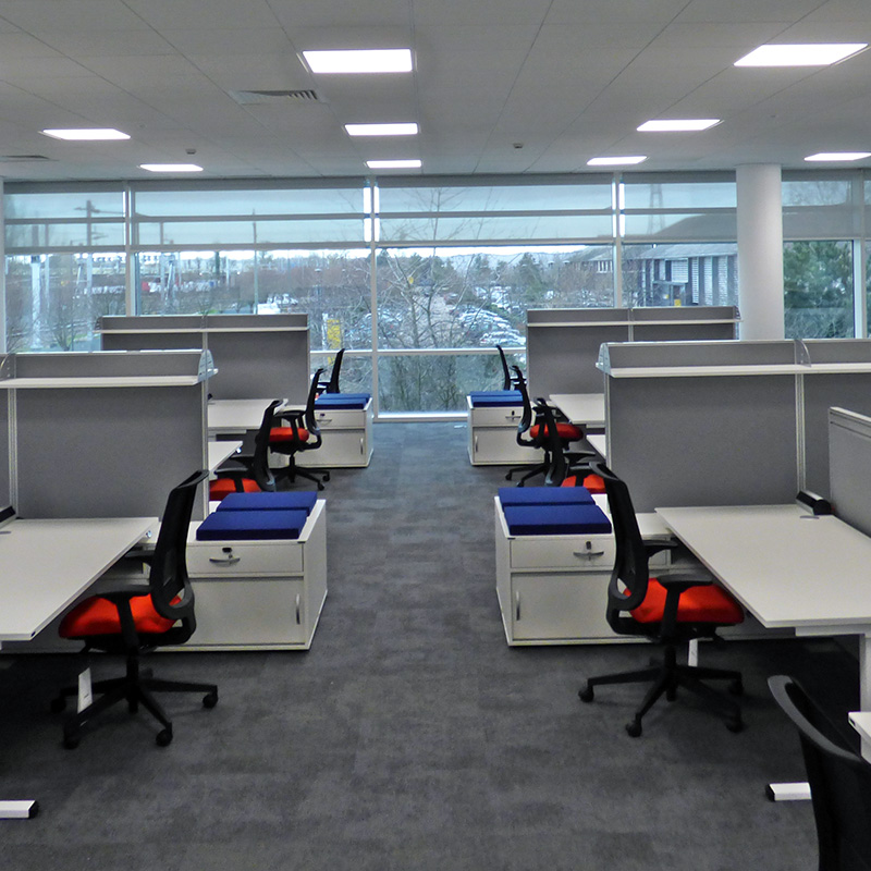 Office Fit out delivery Bulb Interiors